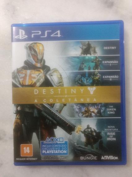 Jogo Destiny Coletânea Playstation 4