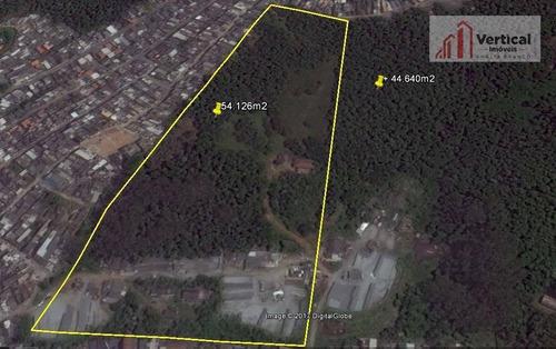 Área À Venda, 54126 M² Por R$ 8.000.000,00 - Colônia (zona Leste) - São Paulo/sp - Ar0058