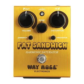 Pedal Fat Sandwitch Distortion Way Huge Dunlop Novo!