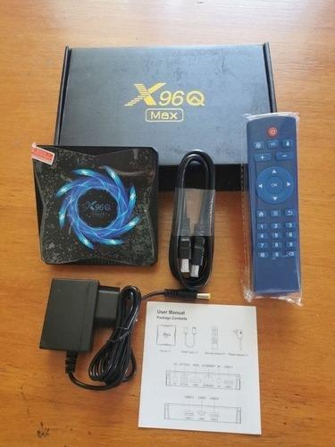 X96q Max Android 10.0 Smart Tv Box Allwinner H616 Bluetooth
