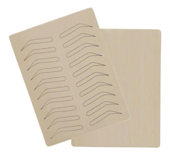 1 Pieza Piel Sintetica Para Delineado Permanete Microblading