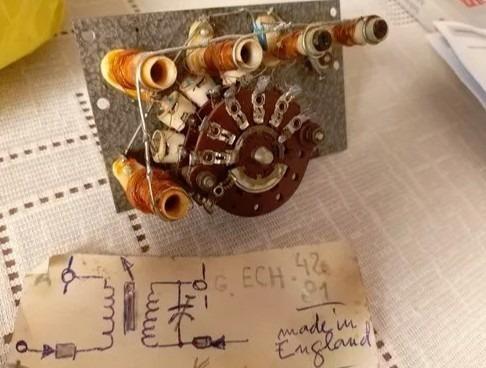 Util Chave Seletora 5 Posições+bobinas+capacitores, P/radios