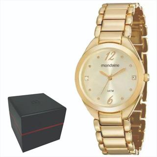 Relógio Mondaine Feminino Original Garantia Nf 53566lpmvde1