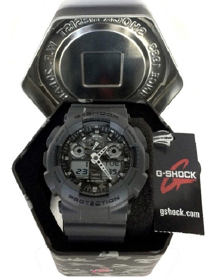 Relógio Casio G-shock Resist W.r. 20 Bar Ga100cf-8a Original