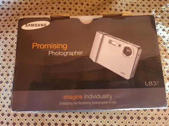 Câmera Fotográfica Samsung Modelo L83t