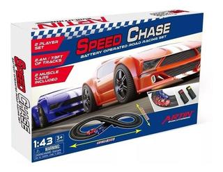 Pista Speedy Chase Racing Clasica 97 X 47 Cm Casa Valente