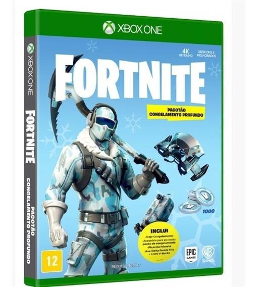 Jogo Fortnite Pacotão Congelamento Profundo Xbox One
