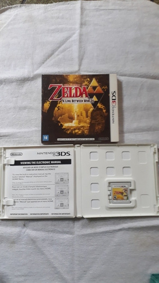 Jogo The Legend Of Zelda A Link Between WorldsNintendo 3ds