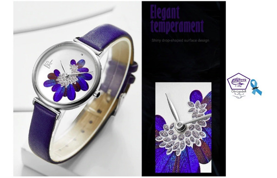 Relógio Bk Feminino Azul Prova Dágua