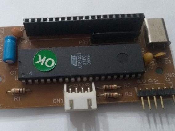 50 Placas Microcontrolador At89s52 - 24pu - Retirar Da Placa