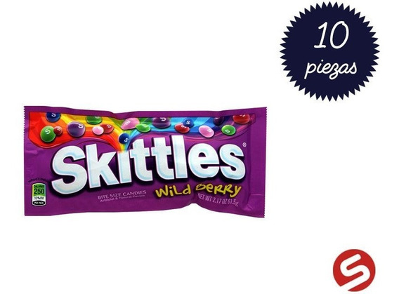 Skittles Wildberries 10pzs