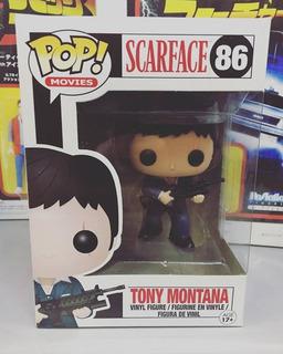 Funko Pop! Scarface Tony Montana Vaulted #86 Nuevo En Stock
