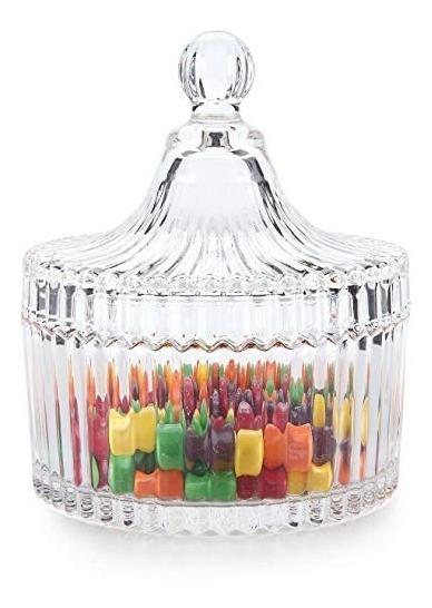 10 Carameleras Bomboneras Candy Bar De Vidrio Souvenir