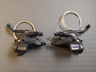 Manijas Shifters 27 Velocidades 3x9 Shimano Alivio M430