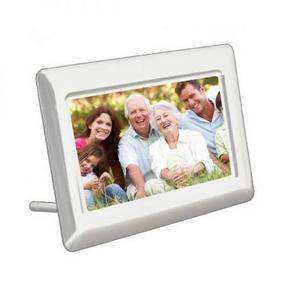 Porta Retrato Digital Kaiomy Digital - 8 Polegadas - Branco