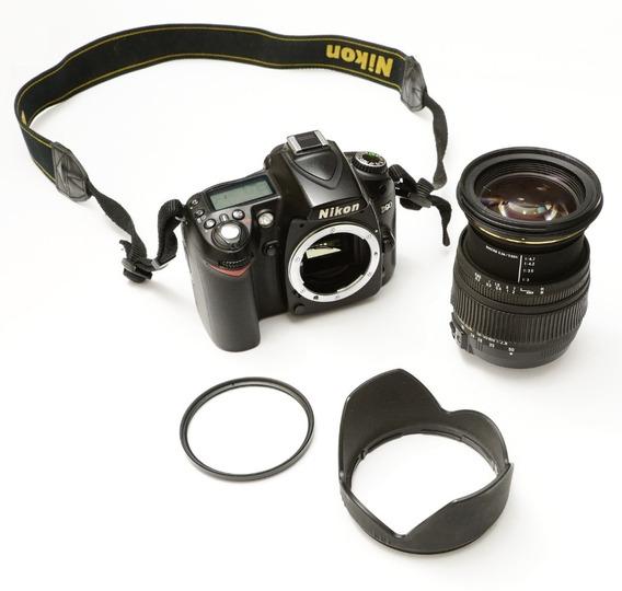 Câmera Nikon D90 .com Lente 18-50mm F2.8 Vr