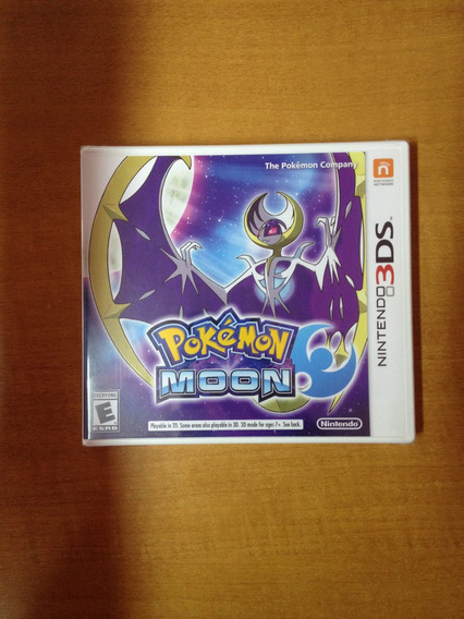 Pokemon Moon Nintendo 3ds Novo Lacrado