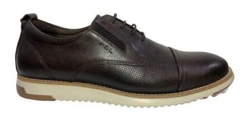 Sapato Confortável Couro Ferricelli Stg54605-nt01 Resistente
