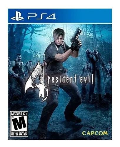 Imagen 1 de 10 de Resident Evil 4 Ps4 Juego Fisico Sellado Tomamos Tu Usado