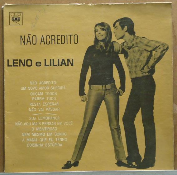 Lp (342) - Raro! - Leno E Lilian - Não Acredito