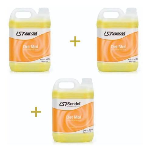 Det Mol Detergente De Uso Geral Sandet 5l - Shampoo - 3 Un