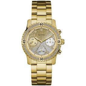 Relógio Feminino Guess 92595lpgsda5 Dourado