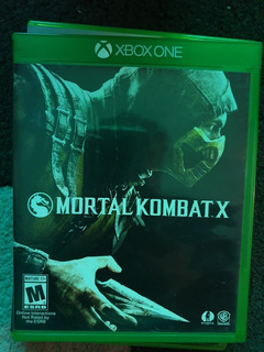 Juego Físico Xbox One, Mortal Kombat X