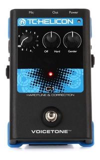 Pedal De Efecto Tc Helicon Voicetone C1