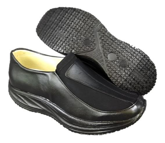 Zapato Piel Licra Pie Delicado Diabetes Dr House 4011 Naty