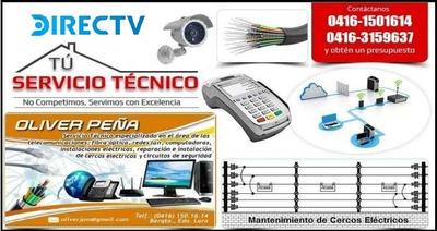Directv, Cerco Eléctrico, Servicio Técnico, Concertinas