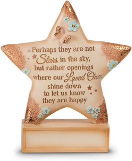 Light Your Way Memorial Stars In The Sky Plaque, Pul...