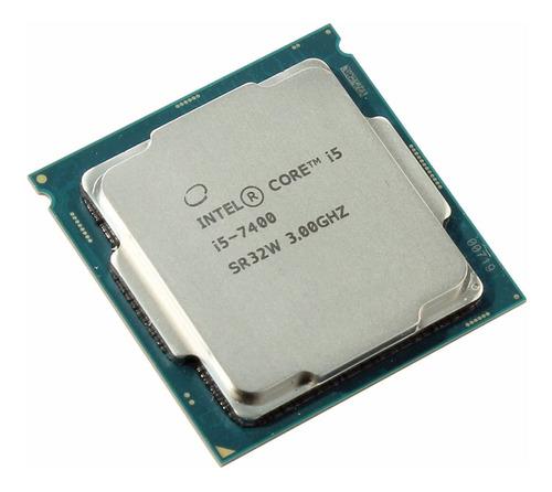 Processador gamer Intel Core i5-7400 CM8067702867050 de 4 núcleos e 3GHz de frequência com gráfica integrada