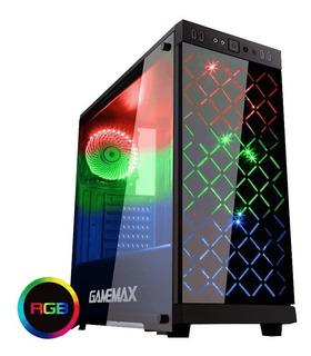 Gabinete Gamemax Atx Polaris Rgb 4fan Vidrio Templado