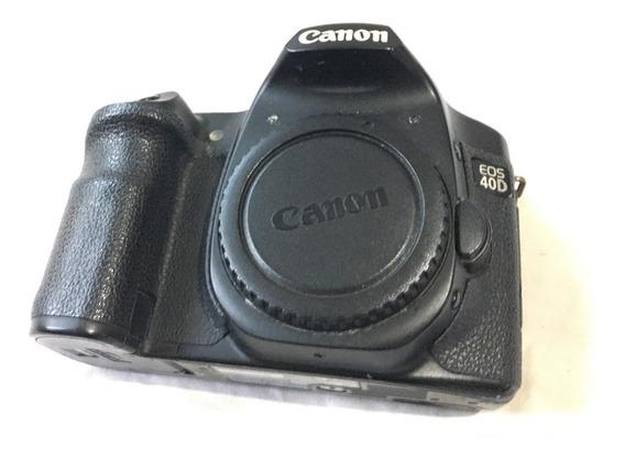 Câmera Cânon Dslr 40d (somente O Corpo)