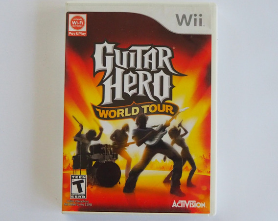 Guitar Hero World Tour Original Para Nintendo Wii