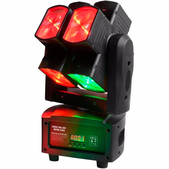 Moving Head Pls Eightsquare 8 Leds Rgbw 80w 8 X 12w