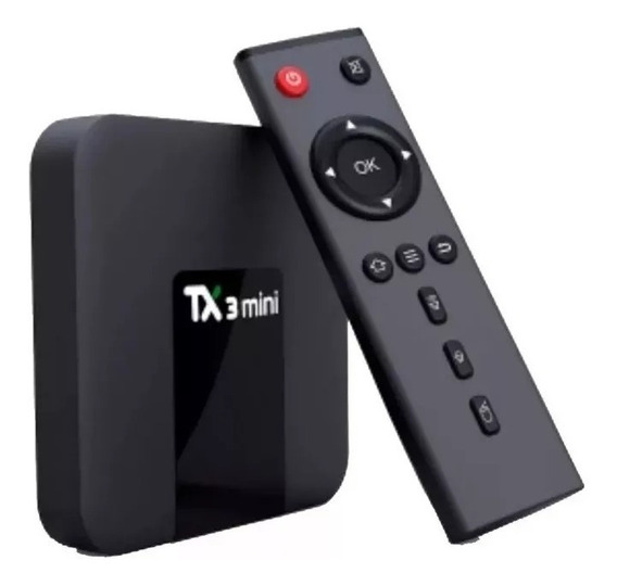 Tv Box Tx3 Mini 3gb/32gb Bluetooth + Mini Teclado Iluminado