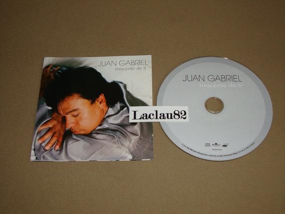 Juan Gabriel Inocente De Ti 2003 Bmg Cd