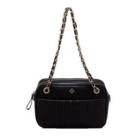 8e86c978b Bolsa Couro Sintetico Capodarte Inspirada Chanel Preta - Bolsas ...