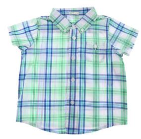 Camisa Casual United Colors Of Benetton 3 M Vaquera C434