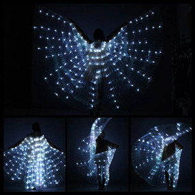Wings Led ,asas De Isis ,dança 300 Luzes Frete Gratis