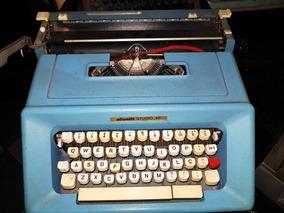 Máquina De Escrever Olivetti Studio 46 Original De Época