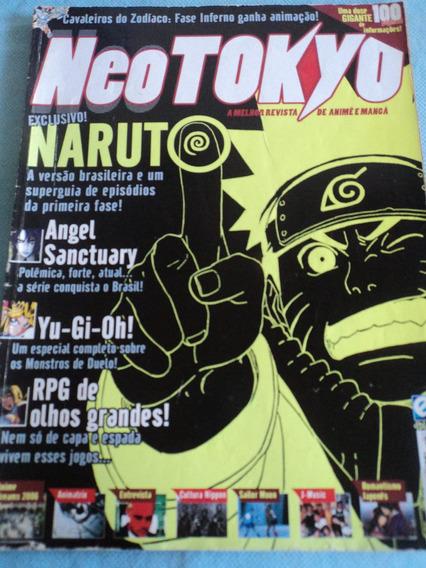 Revista-neo Tokyo:#03:naruto,animatrix,yu-gi-oh!:animê:mangá