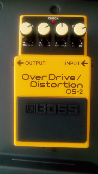 Pedal De Efeito Overdriver Distortion Os-2