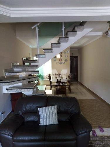 Sobrado Com 3 Dormitórios À Venda, 137 M² Por R$ 690.000,02 - Jardim Zaira - Guarulhos/sp - So0709