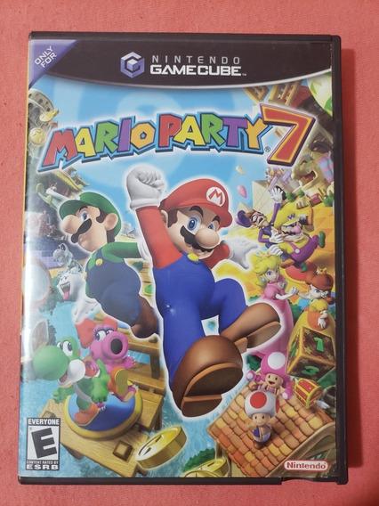Mario Party 7 Nintendo Game Cube Gamecube Completo Top