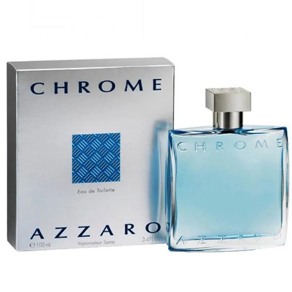 Perfume Azzaro Chrome 100 Ml Original - Envio Imediato
