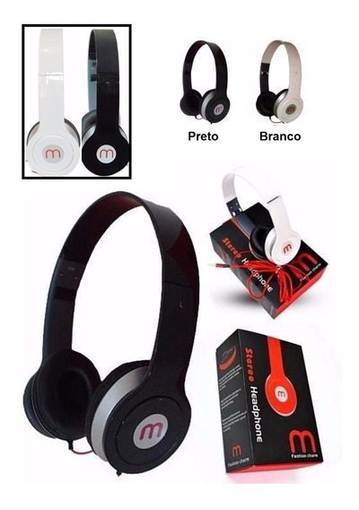 Headphone Mex - Am 567(preto Ou Branco) - Novo!!!
