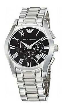 Relógio Emporio Armani Ar0673 Aço Inox Cronógrafo Usado