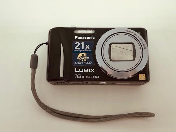 Câmera Digital Panasonic Lumix Dmc-zs10 Lente Leica Gps 3d